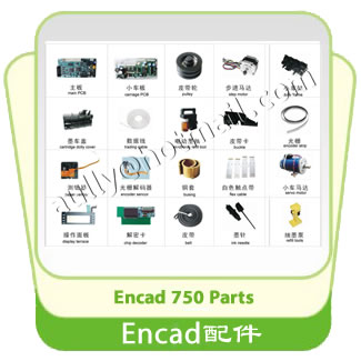Encad 750 Printer Parts