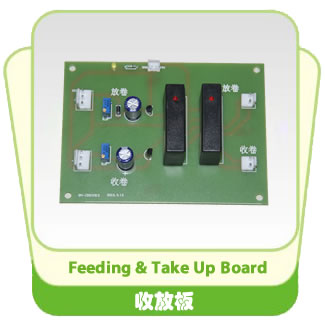 Feeding & Take Up Board