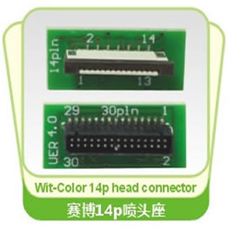 Wit-Color 14P Printhead Patching Board