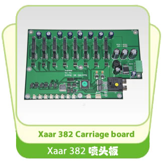 Xaar 382 Proton Carriage board
